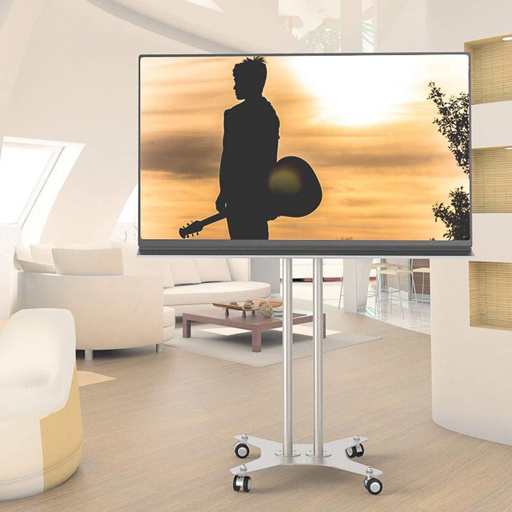 [宅送] 2655インチ液晶 LED 有機 El フラットパネル360º回転ワイヤ管理のための車輪とモバイル Tv LED Tv カートテレビスタンドホームベッドルーム教室会議室ビデオ通話 El B07K753S3H, フットカバーのにじいろマルシェ:38de3fac --- realcalcados.com.br