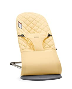BABYBJÖRN Bouncer Bliss, Cotton, Light Yellow