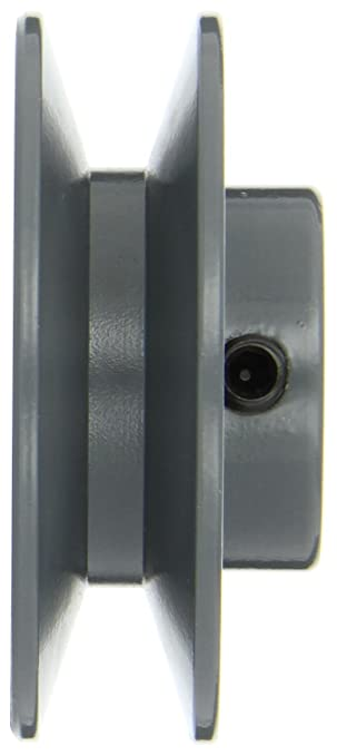 2BK Type Gates 2BK27 Light Duty Solid Sheaves 2.85 OD 1//2 Bore 2 Groove