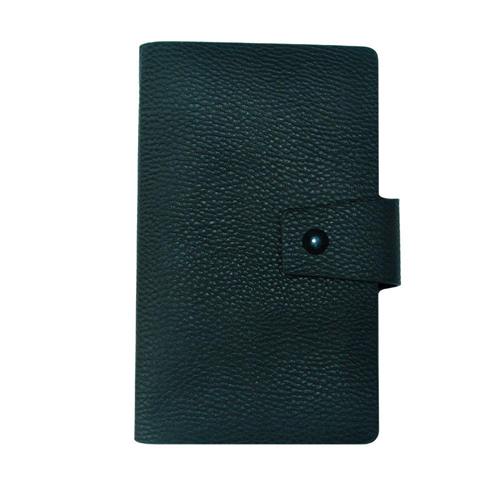クレジットカードバインダークリップ、レザーカードホルダーwith 300カードスロット、カード小冊子コレクタープロテクター   B00WPCPVTG