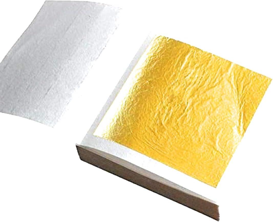 24k Gold Leaf (1Booklet 25 Sheets/Transfer Type)