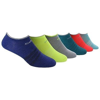 adidas Women's Superlite No Show Socks (6-Pair): Clothing