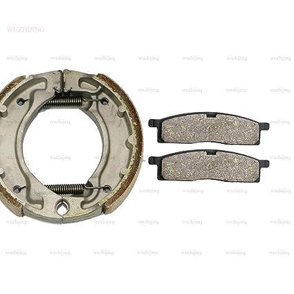 CNBP Front Rear Brake Pad Set fit Kawasaki KLX 110 03-06 Suzuki DR-Z DRZ 110 02-16