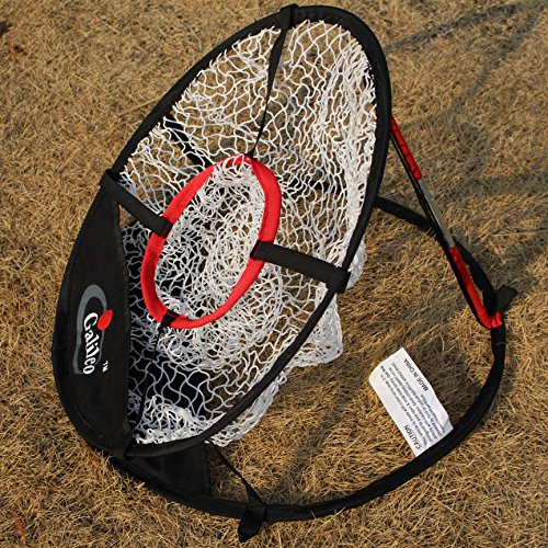 Golf net with Target net Diameter 50cm ' Pop Up Golf Chipping Net | Outdoor & Indoor Golfing Target Accessories and Backyard Practice Swing Game by Galileo