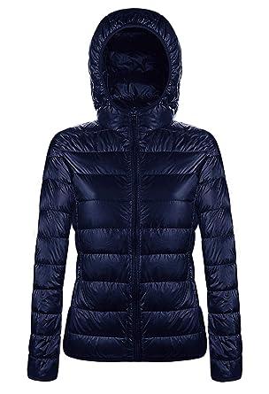 Angerella Mujer Ultraligero Edredón Chaqueta Packable Abrigo Jacket