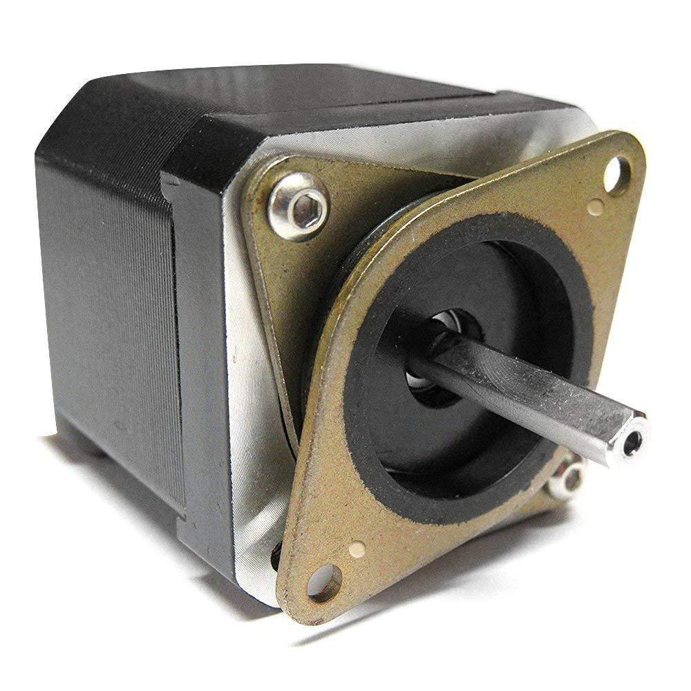 NEMA 17 3D Printer Size 2 10 Pcs M3 5mm Screws for CNC 5 Pcs Stepper Motor Steel and Rubber Vibration Damper