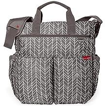 Skip Hop Duo Signature Diaper Bag, Grey Feather