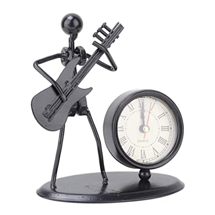 gaixample.org Iron Art Instrument Performer Model Clock Without ...