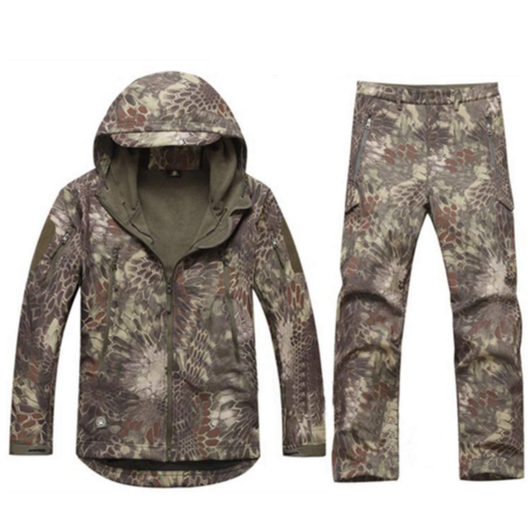 Amazon.com: FieldShuFu Tactical Gear Softshell - Chaqueta de ...
