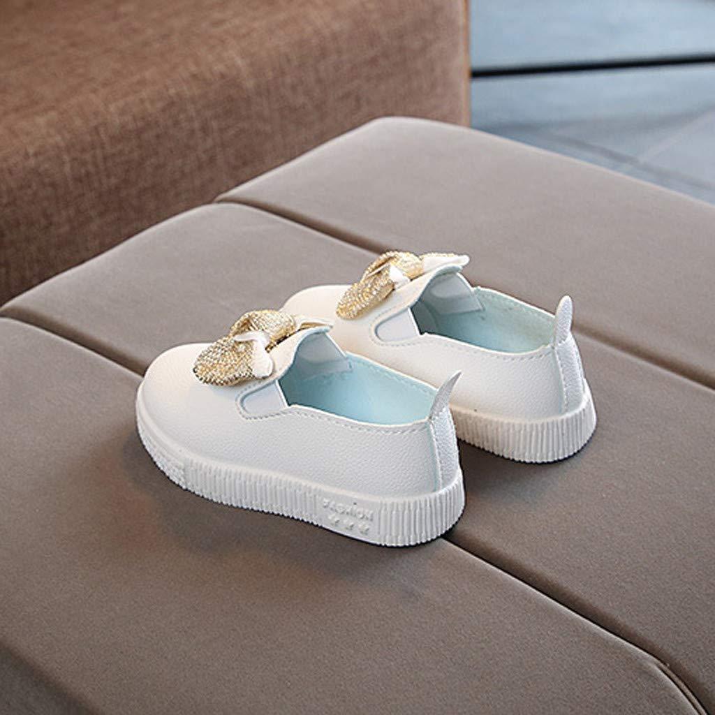 Xturfuo Childrens Shoes Girls Rabbit Ears Furry Princess Shoes Cute Casual Shoes