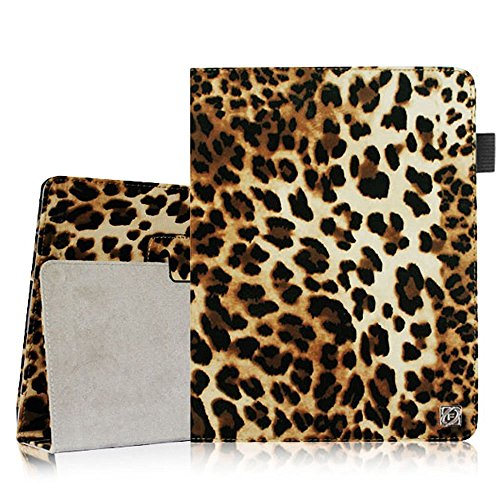 Fintie iPad 2/3/4 Case - Slim Fit Folio Case with Smart Cover Auto Sleep / Wake Feature for Apple iPad 2, the new iPad 3 & iPad 4th Generation with Retina Display, Leopard Brown (4 Leopard)