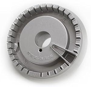 ForeverPRO WB16K10062 Vision Burner Xl for GE Range 1262620 AH1480987 EA1480987 PS1480987