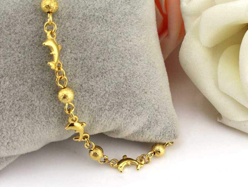 Foot Jewelry for Women Teen Girls Great Foot BraceletBall Dolphin Women Ankle Bracelet Barefoot Sandal Beach Foot JewelryBall Dolphin