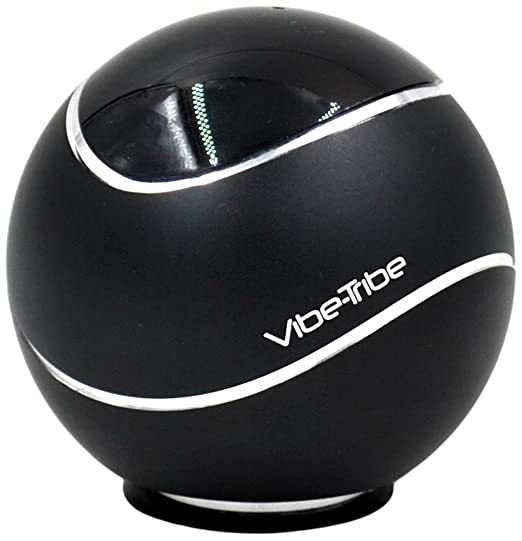 28 opinioni per Vibe-Tribe Orbit- Black: 15 Watt Bluetooth Vibration Speaker, vivavoce, suction