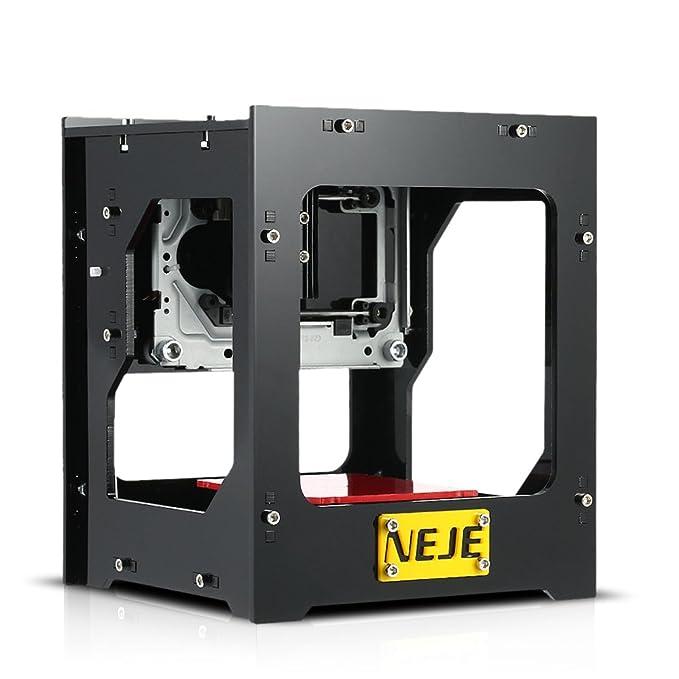 NEJE DK-8-FKZ 1500mW Máquina de Grabado Tallado Mini Usb Escultor Grabador Láser Automático Diy Imprimir Desconectado Operación con Protector Gafas: ...