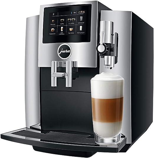 JURA S8 Chroom Cafetera automática, 1450 W, 1.9 litros, Negro ...