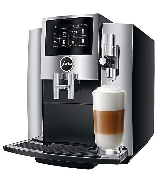 JURA S8 Independiente Máquina espresso Negro, Cromo 1,9 L 16 tazas ...