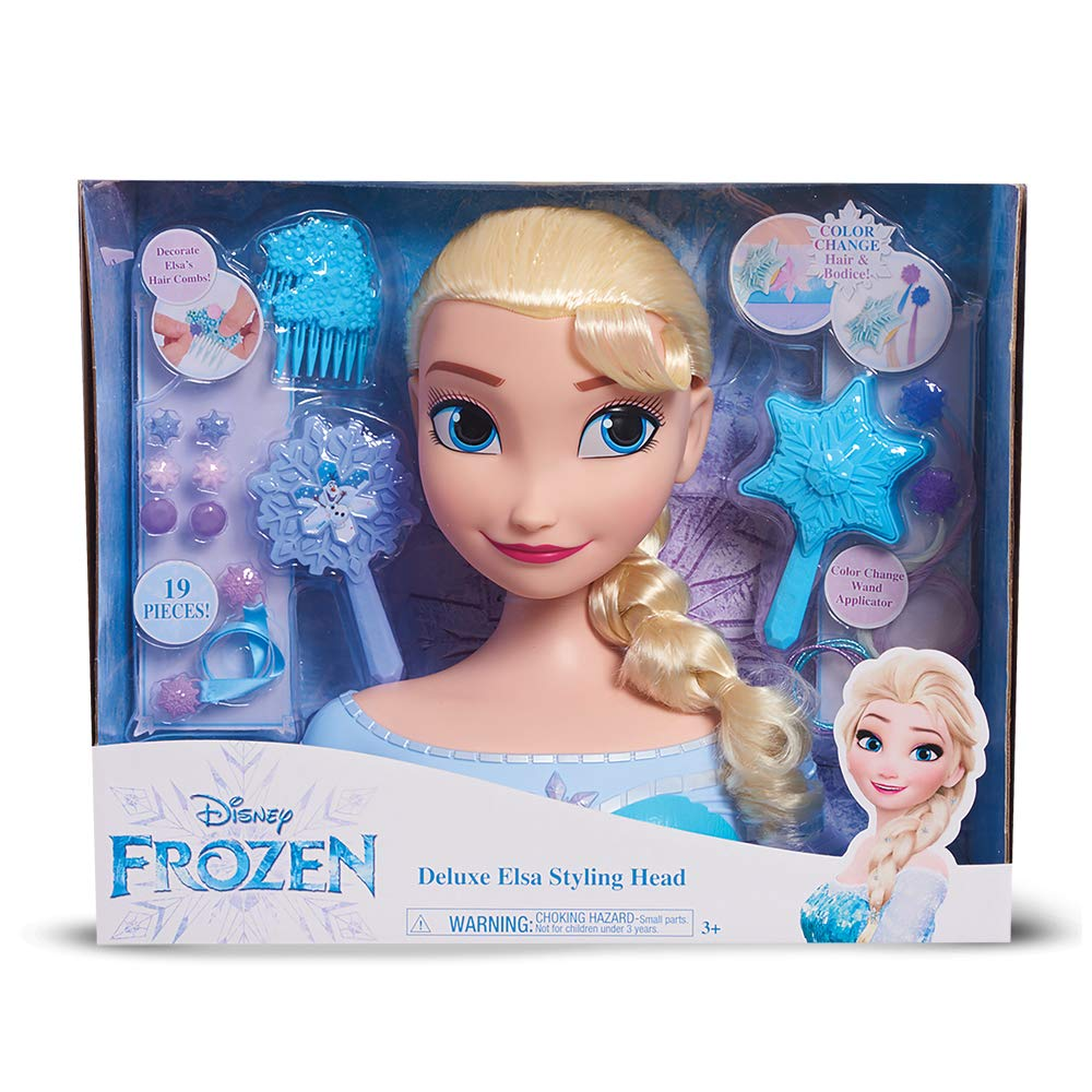 Giochi Preziosi Disney Elsa Busto Deluxe, Multicolor (4): Amazon ...