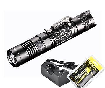 Nitecore P12 Linterna táctica compacta LED, de 1000 lúmenes ...