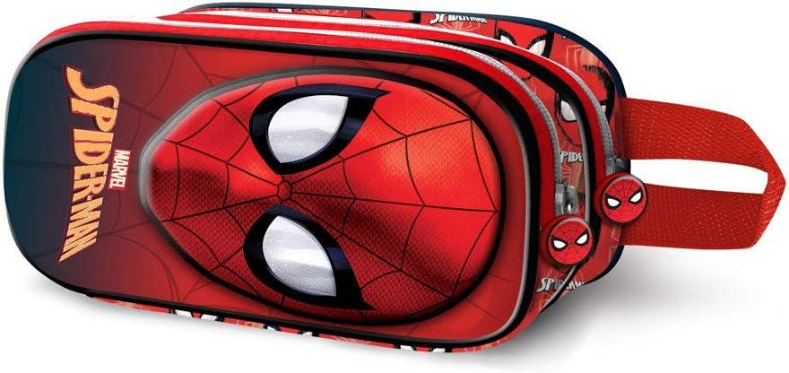 Spiderman Spiderweb-Estuche Portatodo 3D Doble: Amazon.es: Equipaje