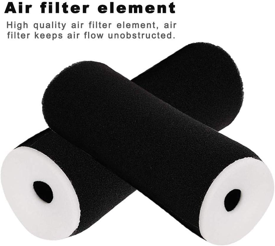 HIFROM Air Filter Element Cleaner Replacement for Yamaha Grizzly 600 YFM600 YFM600F YFM600FH YFM660FHW YFM600FWA Pack of 1 Raptor 350 YFM350 YFM350R YFM350X YFM350FX Replaces 1UY-14451-00-00