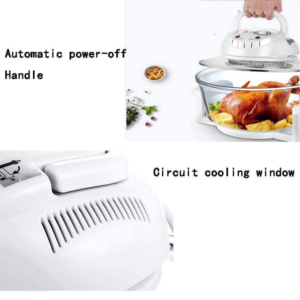 Amazon.com: XMYL freidora de aire halógena para horno, 12 ...