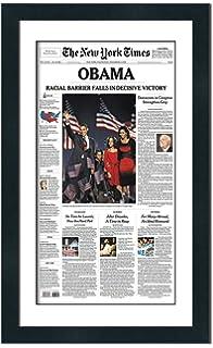Amazon com: The Boston Globe Newspaper Frame - with New England