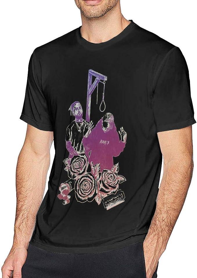 Krooe Camiseta Cool UICIDEBOY FTP Negra para Hombre: Amazon.es ...
