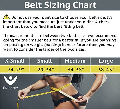 Weightlifting Belt Heavy Duty Back Support For Men & Women Best For Olympic Lifting, Crossfit & Gym Training Workout High Strength Nylon With Quick Release Velcro And Steel Buckle