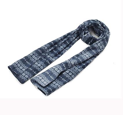 For mujer de terciopelo de seda larga bufanda de la manera Ligera ...