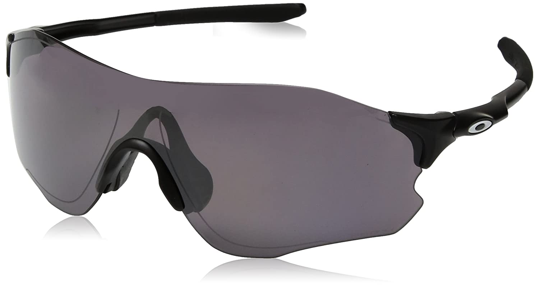 30dfb73749250 Amazon.com  Oakley Men s Evzero Path Non-Polarized Iridium Rectangular  Sunglasses AERO GRID SKY 0 mm  Clothing