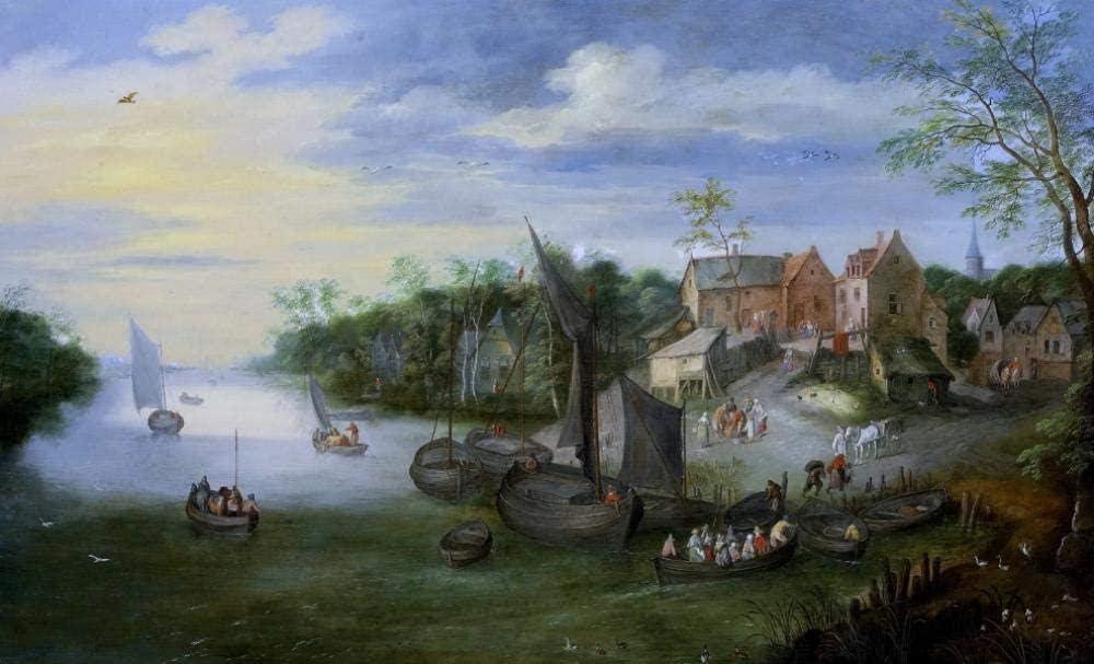 33Tdfc Clásico Rompecabezas 1000 Piezas Adultos Juego Creativo Rompecabezas Niños Adultos Rompecabezas Regalo Jan Brueghel De Arte
