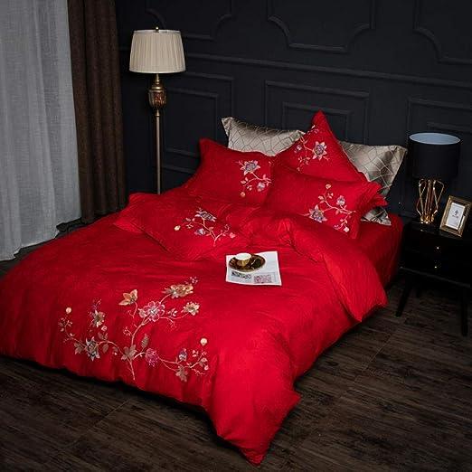 oreiller couverture ensemble de lit Nouveau king taille 4PCS réversible housse de couette drap housse