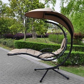 Indoor Outdoor Courtyard Balcony Hammock Dream Chair Swing Hammock Garden  Furniture Sun Seat Relaxer/Canopy