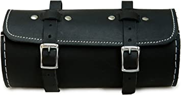 Real Leather Bicycle Saddle Bag Utility Tool Box bike vintage handmade stich