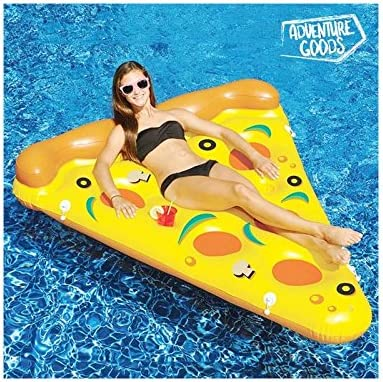 Colchoneta Hinchable Pizza Adventure Goods: Amazon.es: Deportes y ...