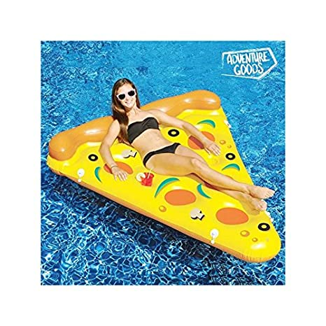Colchoneta Hinchable Pizza Adventure Goods: Amazon.es ...
