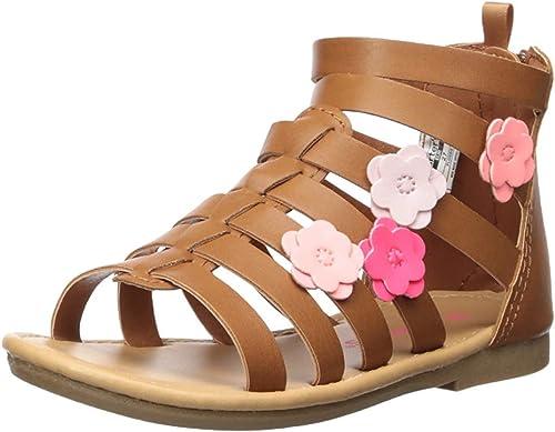 Flossie//Sizes Carter/'s Flossie Flower Girls/' Toddler Sandal