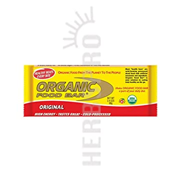 Amazoncom Organic Food Bar Original Box Organic Food Bar 12