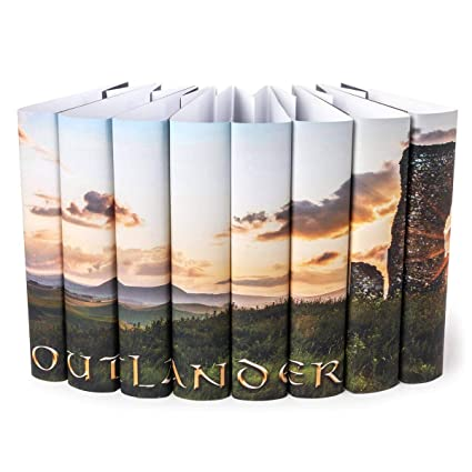 Amazon.com: Outlander Series libro Set Chaquetas sólo: Arte ...