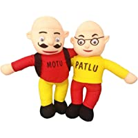 BM CELTIC.Beautiful Stuffed Motu Patlu Soft Toy for Kids (Motu Patlu)