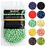 Hair Removal Wax On Carpet - BlueZoo 100g Different Smell Depilatory Pearl Hard Wax Brazilian Granules Hot Film Wax Bead For Hair Removal By Perman (Lavender smell, Multicolor)
