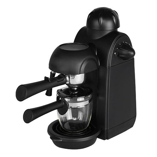 boodtag máquina de café Espresso y capuchino semiautomático ...