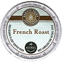 Barista Prima Coffeehouse 6611 French Roast K-Cups Coffee Pack, 24/box