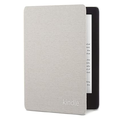 for 10th Generation - 2019 Kindle Fabric Cover Sandstone White