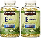 Kirkland Signature, Vitamin E 400 IU fxjpw 500 Softgels (Pack of 2) Review