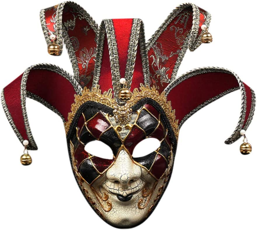 Latex Masque Al Carnaval Amusant homme mardi gras