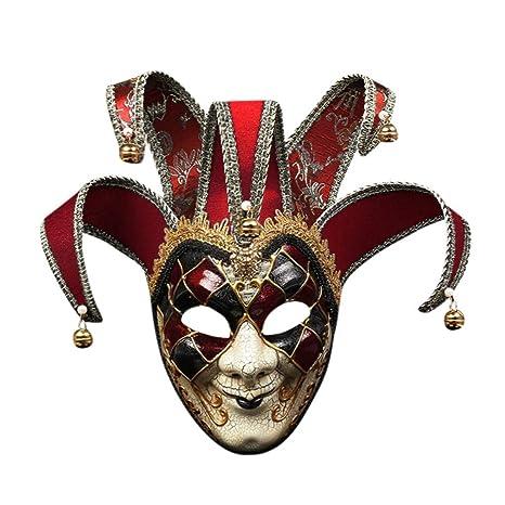 Amazon.com: Máscara de resina, de Bonjiu, talla única: Clothing