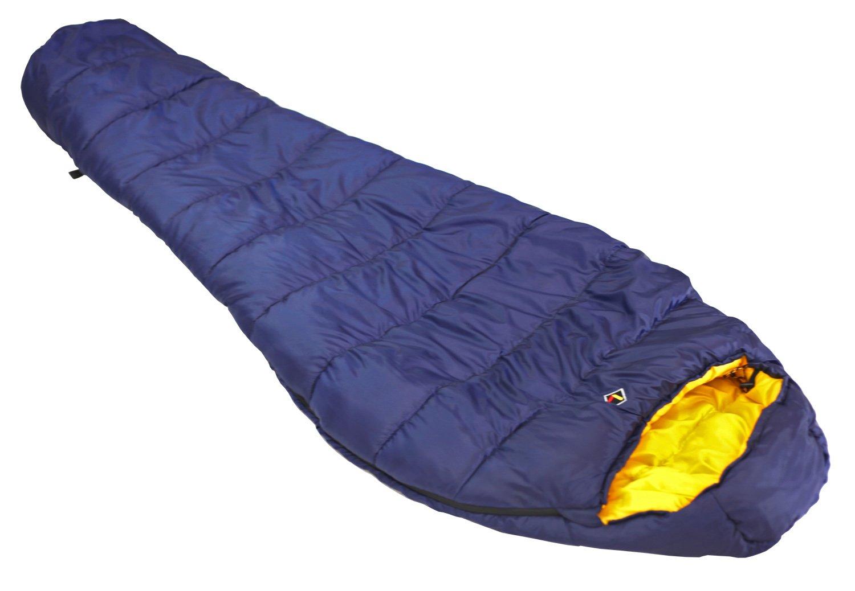 Ledge Sports Deep Creek 25 F Degree Classic Mummy Sleeping Bag 84 X 32 X 20, Blue