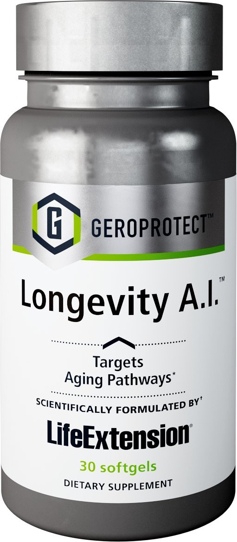 Life Extension Geroprotect Longevity A.I, 30 Softgels